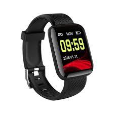 <b>116 Plus Wristband Sports</b> Fitness Blood Pressure Heart Rate Smart ...