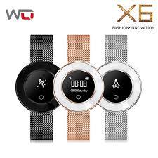 WQ <b>X6</b> Lady Smart <b>Band</b> Yoga Watch <b>Blood Pressure</b> Smart ...