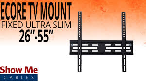 "How To Install The Ultra Slim TV <b>Mount</b> For TV's Between 26"" To 55 ..."