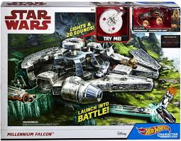 <b>Hot Wheels Star Wars</b> Millennium Falcon, Only $16 at Walmart ...