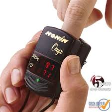 Nonin Onyx <b>Digital Finger</b> Pulse Oximeter Vantage 9590 <b>Free</b> Case ...
