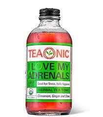TEAONIC I LOVE MY ADRENALS - Herbal Tea Tonic ... - Amazon.com