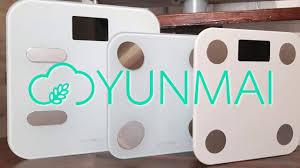 <b>Весы напольные YUNMAI</b> M1690 balance белые купить недорого ...