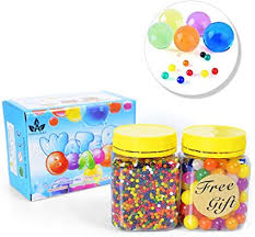 AINOLWAY Large Water Beads Pack Rainbow Mix for ... - Amazon.com