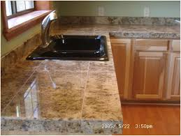 Granite Tile Kitchen Kitchen Tile Kitchen Countertop Lazy Granite Tile Countertop