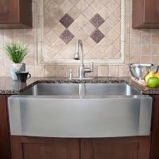 stainless farmhouse sink double bowl