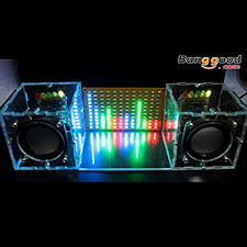 With Housing <b>DIY</b> Music Spectrum <b>LED Flash Kit</b> + <b>DIY</b> Amplifier ...