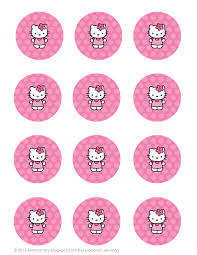 all things simple simple celebrations hello kitty party printables these hello kitty party printables can be used as tags on goodie bags or toppers for