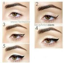 easy way to learn to do winged liner