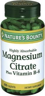 Купить <b>Natures Bounty Цитрат магния</b> с витамином В6 таб 60 шт ...