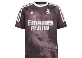 adidas <b>Real Madrid</b> Human Race Jersey <b>Black/White</b> - FW20