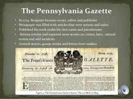 「the June 12, 1776, issue of The Pennsylvania Gazette containing the Virginia Declaration of Rights」の画像検索結果
