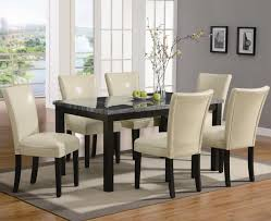 black dining chair set full size of tables amp chairs pc dining set beige leather dining chai
