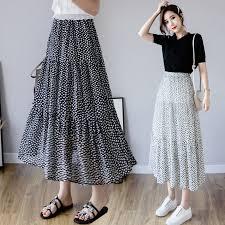 <b>2019</b> new <b>fashion</b> Korean Fashon Vintage <b>Polka</b> Dot Skrits <b>Women</b> ...