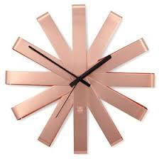 <b>Часы настенные Ribbon</b>, <b>медь</b> (2844017) - Купить по цене от 4 ...