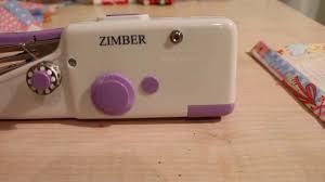 <b>Швейная машинка Zimber</b> - YouTube