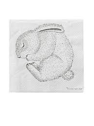 <b>Набор салфеток</b> Animals Bloomingville 7612015 в интернет ...