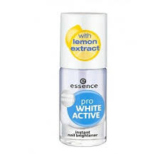 <b>Essence</b> Studio <b>Pro White</b> Nail <b>Active</b> Whitener with lemon extract ...