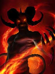 Image result for demonio gigante comiendo