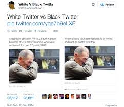 Black Twitter & White Twitter Have Hilarious Face Off [Photos ... via Relatably.com