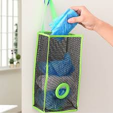 2015 Shelf Hanging Kids Toy Kitchen Garbage Bags Storage Foldable Packing Pouch Shopping Bag Organizer Bedroom