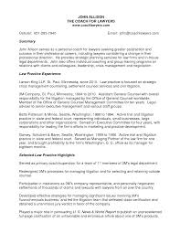 creditors rights attorney resume