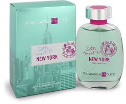 <b>Mandarina Duck Let's</b> Travel To New York Perfume by Mandarina ...