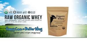 <b>Raw Organic</b> Whey: <b>Organic</b> Whey <b>Protein</b> Powder - Grass Fed