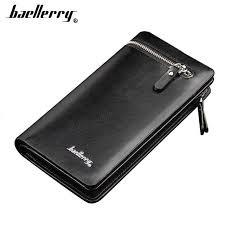 Online Shop 2019 <b>Baellerry Men Wallets</b> Long Casual Card Holder ...