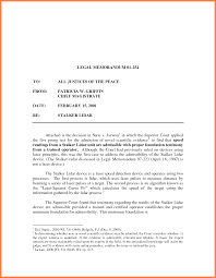 legal memo example invoice example  related for 6 legal memo example
