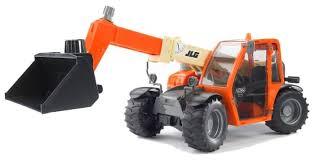 Погрузчик <b>Bruder</b> колёсный <b>JLG</b> 2505 Telehandler (02-140) 1:16 ...
