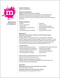 resume template design for  seangarrette coresume template for graphic designer design proficiencis technical experience   resume template design