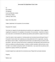 accountant job application cover letter template word doc cover letter templet