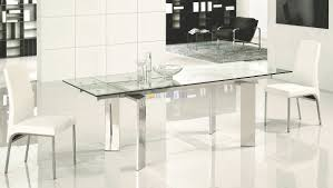 extendable dining table set: contemporary extending dining tables dining room