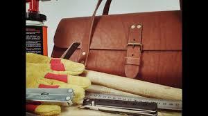 Кожаная <b>сумка для инструмента</b>, своими руками. <b>Leather</b> tool bag ...