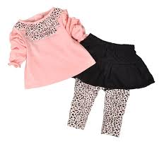 2019 Wholesale <b>Baby Girl Clothes</b> Set <b>Divided</b> Skirts + T Shirt Long ...