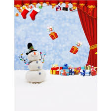 full square diamond painting snowman home