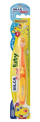 <b>Silca</b> Putzi <b>Зубная щетка</b> Baby от 1 до 6 лет цвет в ассортименте