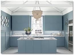 painted blue kitchen cabinets house: designer ideas for painting your kitchen cabinets house provincial blue