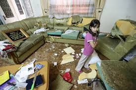 in photos i soliders destroy kidnapping suspects family i iers used knives from the kitchen to destroy furniture throughout the qawasmeh home