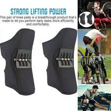 2nd Generation Power Lift <b>Joint Support Knee</b> Brace Pads Rebound ...