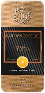 "<b>Шоколад Golden Dessert</b> ""72%"", <b>горький шоколад</b> с кранчами ..."
