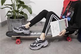 NEWDISCVRY Vintage Women's Platform Dad Sneakers <b>2019</b> ...
