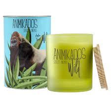 <b>Свеча ароматическая Gorilla</b> - амбровый Wild 40 ч <b>Ambientair</b> ...