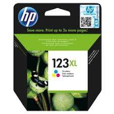 «<b>HP</b> 123XL (F6V18AE), <b>Tri</b>-<b>colour картридж</b> для <b>HP</b> DeskJet 2130 ...