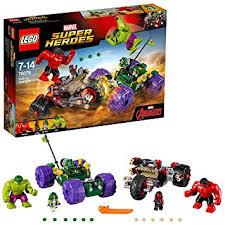 <b>LEGO 76078 Marvel Super Heroes</b> Hulk Vs Red Hulk <b>Superhero</b> Toy