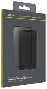 Купить <b>Защитное стекло PERO</b> Full Glue для Samsung A40 ...