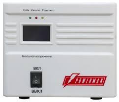 <b>Стабилизатор</b> напряжения <b>Powerman AVS 1000A</b> — купить по ...