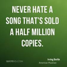 Irving Berlin Quotes | QuoteHD