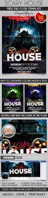 scary house flyer psd template facebook cover by elegantflyer scary house flyer psd template facebook cover